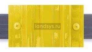 Крепеж_штакетника_саморезами_ral_в цвет_желтый