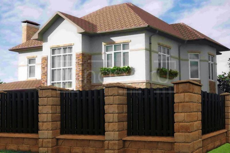 After- Дизайн-проект забора для частного дома