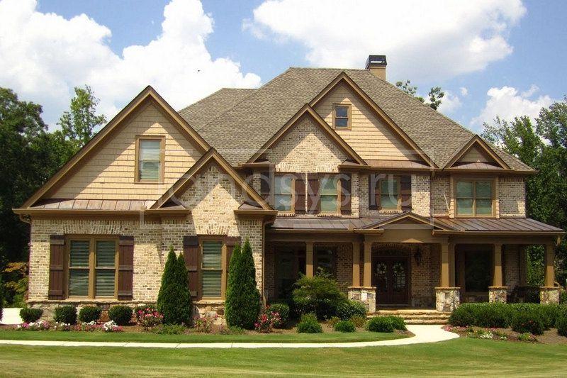 Before- Дизайн-проект забора для большого дома