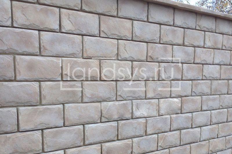 заборы из бетонных блоков
